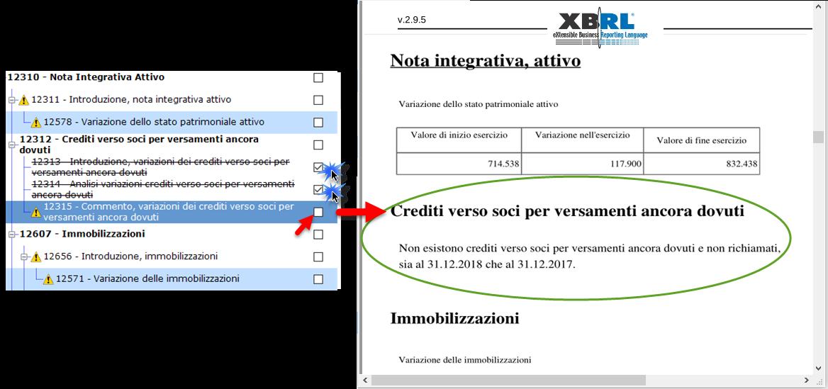 Nota Integrativa: tabella XBRL obbligatoria in assenza del fenomeno di bilancio? - 7