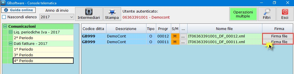 Nuovo Spesometro light 2017: creazione file xml e invio - 7