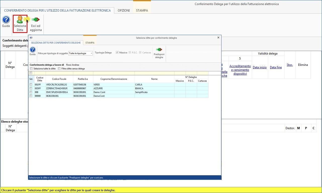 Software Conferimento Delega Fatturazione Elettronica - 7