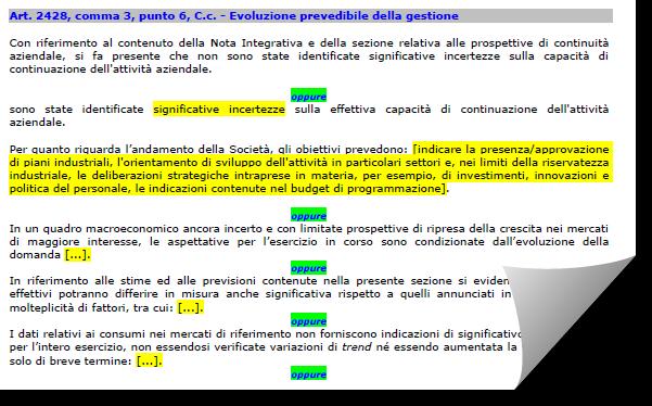 Bilancio 2019: Relazione sulla gestione aggiornata da Confindustria e CNDCEC - 8