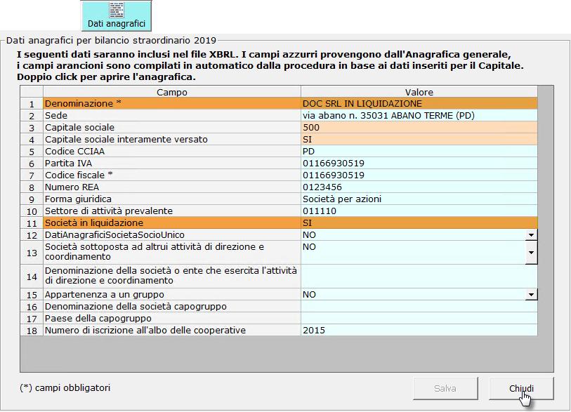 Caso pratico: Bilancio finale di liquidazione con Bilancio Straordinario - 8