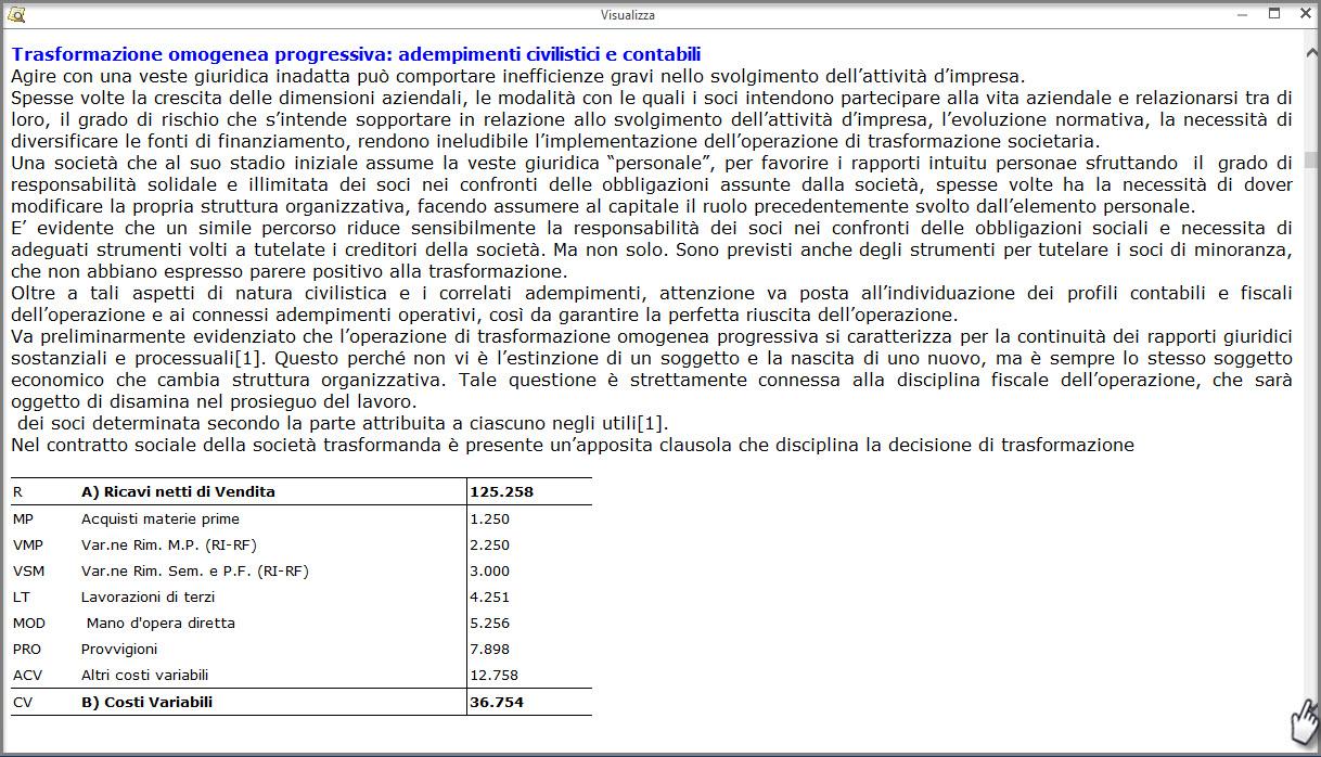 Caso Pratico: Recuperare Nota Integrativa da copie interne - 8