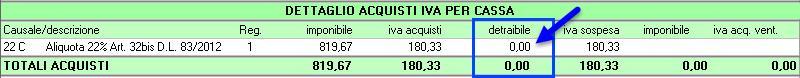 Regime Iva per Cassa in Contabilità GB - 8