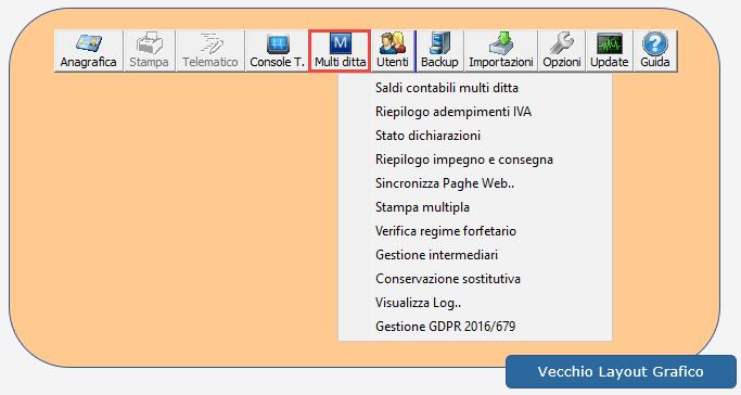 Nuova Console Fatturazione/Fiscale e menu Multi ditta - 8