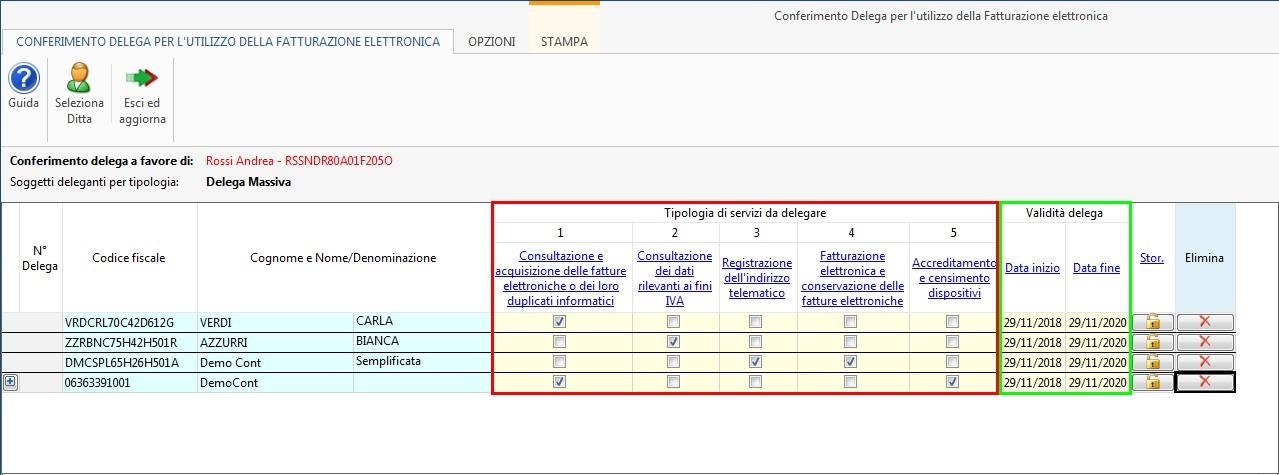 Software Conferimento Delega Fatturazione Elettronica - 8