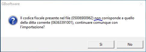Errore importazione file xbrl
