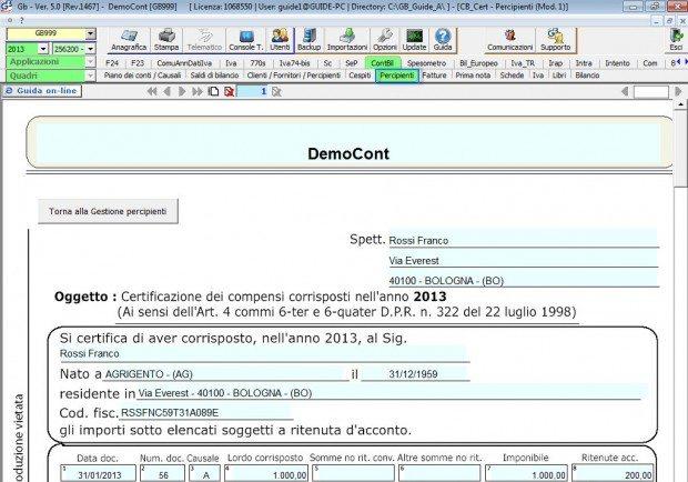 Gestione delle certificazioni