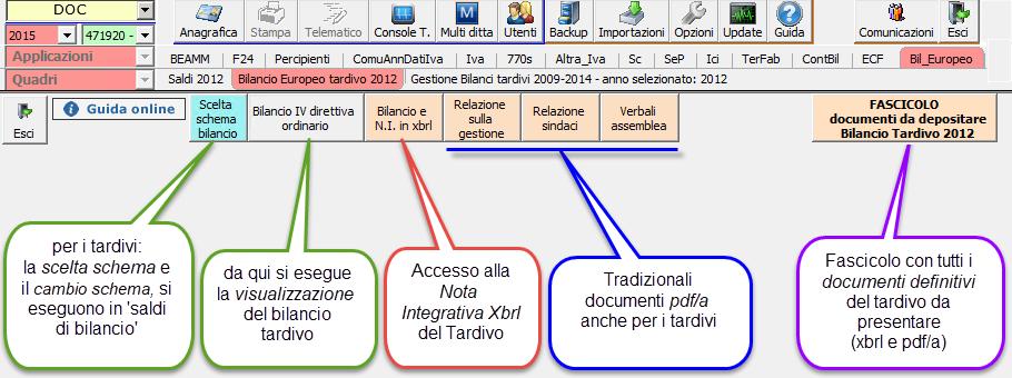 Bilanci Tardivi 2009-2014: disponibile applicazione - 9