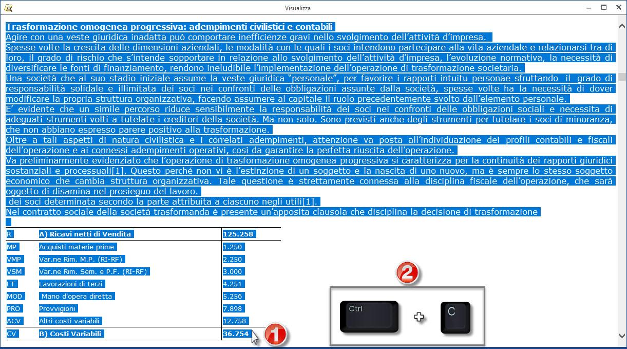 Caso Pratico: Recuperare Nota Integrativa da copie interne - 9