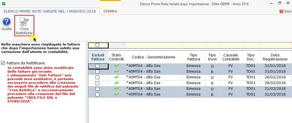 Dati Fatture 2018 (Nuovo Spesometro): 1° semestre – Creazione, invio e scarico ricevute - 9