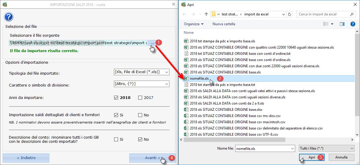 Import Saldi di Bilancio da Excel: nuove funzioni - 9