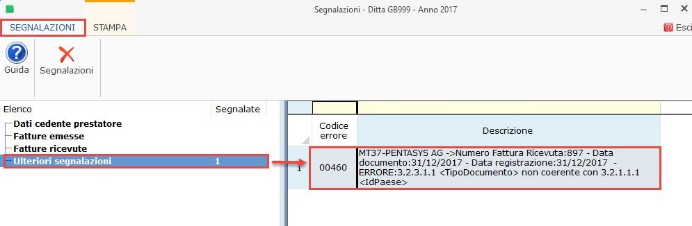 Nuovo Spesometro light 2017: risoluzione segnalazioni GB - 9