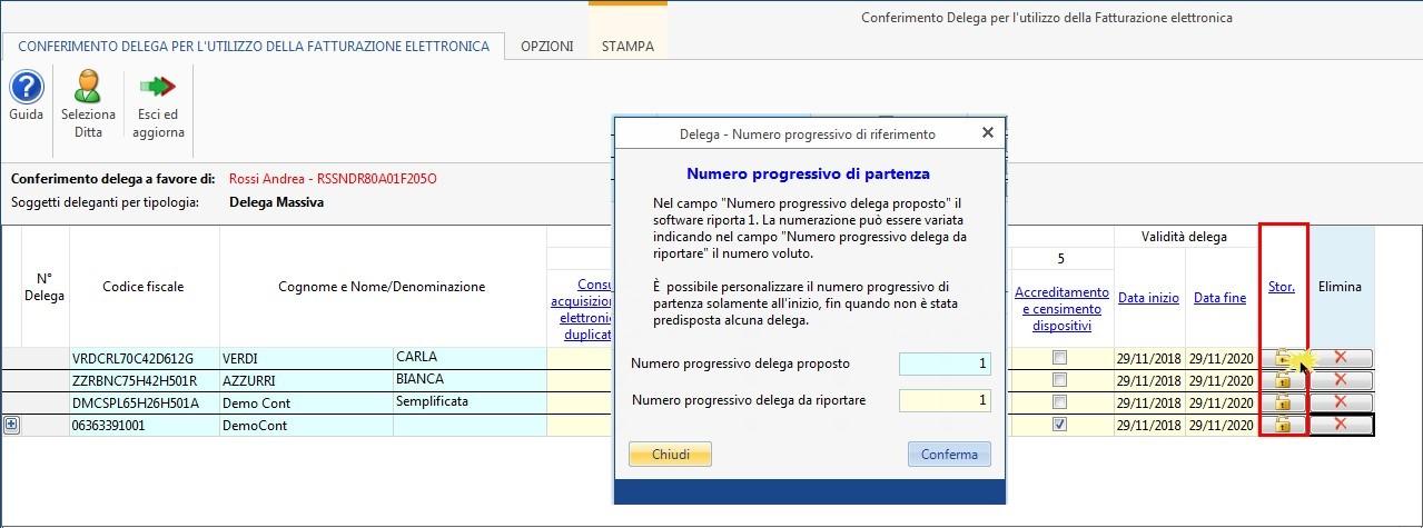 Software Conferimento Delega Fatturazione Elettronica - 9