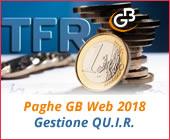Paghe GB Web 2018: Gestione QU.I.R.
