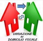 Variazione domicilio fiscale
