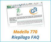 Modello 770 2017: riepilogo principali FAQ