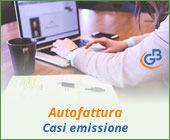 Autofattura: casi di emissione
