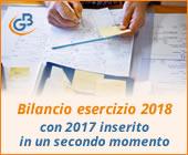 Caso Pratico: Bilancio esercizio 2018 con 2017 inserito in un secondo momento