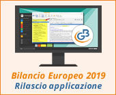 Bilancio Europeo e Analisi di Bilancio 2019: rilascio applicazioni
