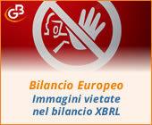 Bilancio Europeo: immagini vietate nel bilancio XBRL