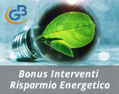 Bonus 55% o 65% per gli interventi finalizzati al risparmio energetico