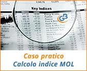 Caso pratico: calcolo indice MOL