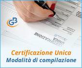 Certificazione Unica 2019: modalità di compilazione