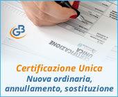 Certificazione Unica 2019: nuova ordinaria, annullamento o sostituzione