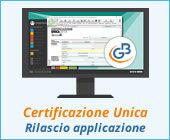 Certificazione Unica 2019: rilascio applicazione