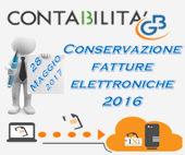 Conservazione Fatture Elettroniche: anticipo al 28 maggio
