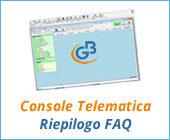 Console Telematica 2017: riepilogo principali FAQ