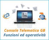 Console Telematica 2017: funzioni ed operatività
