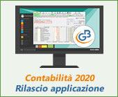 Contabilità 2020: rilascio applicazione