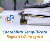 Contabilità Semplificata: Registri IVA integrati