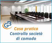 Caso pratico: Controllo società di comodo