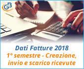 Dati Fatture 2018 (Nuovo Spesometro): 1° semestre – Creazione, invio e scarico ricevute