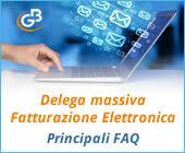 Delega massiva Fatturazione Elettronica: principali FAQ