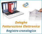 Deleghe Fatturazione Elettronica: Registro cronologico