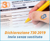 Dichiarazione 730 2019: invio senza sostituto