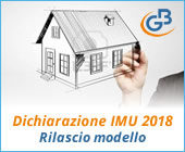 Dichiarazione IMU 2018: rilascio modello