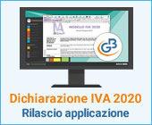 Dichiarazione IVA 2020: rilascio applicazione
