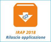 Dichiarazione IRAP 2018: rilascio applicazione
