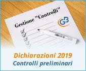 Dichiarazioni 2019: controlli preliminari