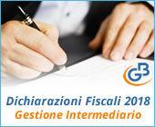 Dichiarazioni Fiscali 2018: Gestione Intermediario
