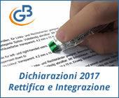 Dichiarazioni 2017: regole di rettifica e integrazione