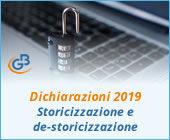Dichiarazioni 2019: Storicizzazione e de-storicizzazione