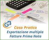 Caso pratico: esportazione multipla fatture in Prima Nota