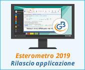 Esterometro 2019: rilascio applicazione