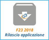 F23 2018: rilascio applicazione