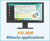 F23 2020: rilascio applicazione